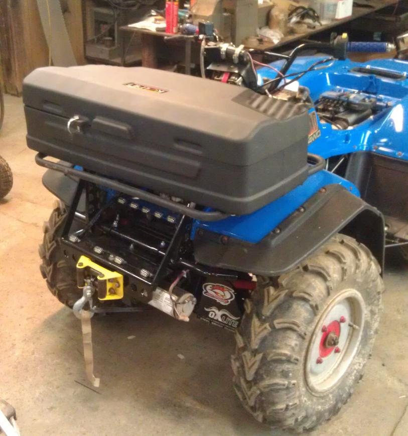 King Quad 300 4x4 -- Installed Winch | Suzuki ATV Forum