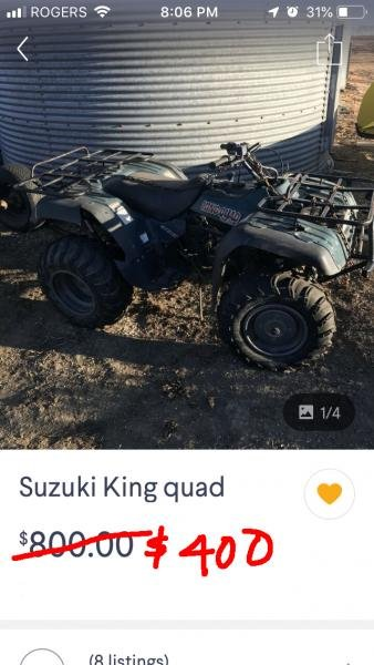 Showcase cover image for Suzuki King Quad