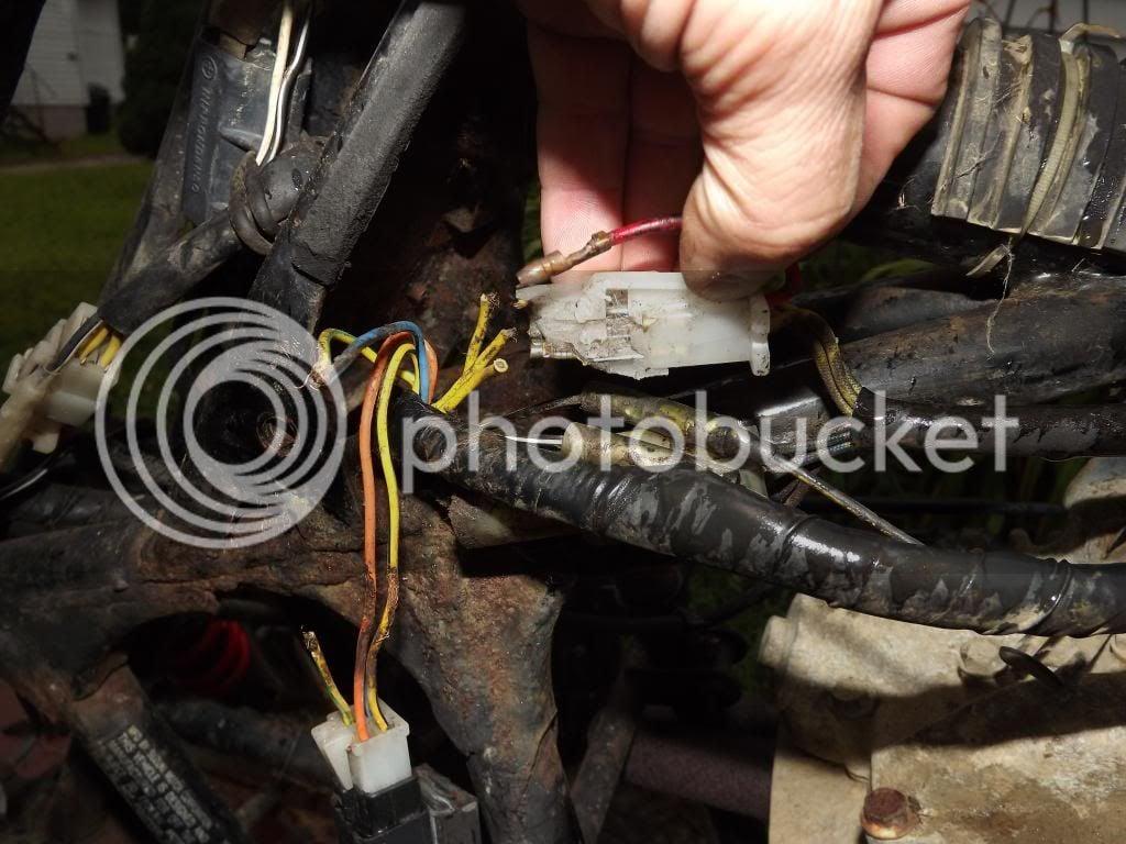 Suzuki 230 Wiring Harnes Repair